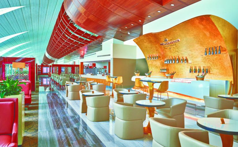 Salónek Emirates v Dubaji prošel proměnou